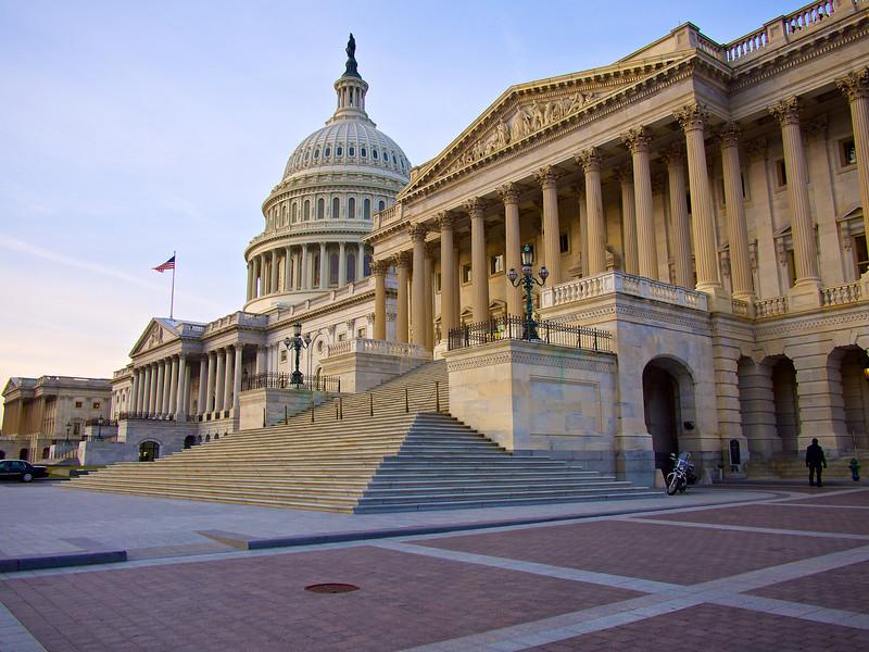 Classic Architecture, United States Capitol - Washington DC