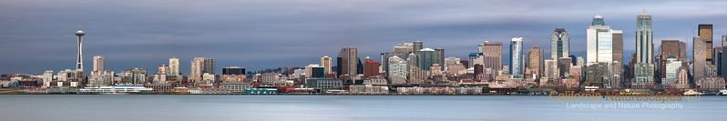 """""""Seattle Skyline"""" Location: Seattle, Washington."""