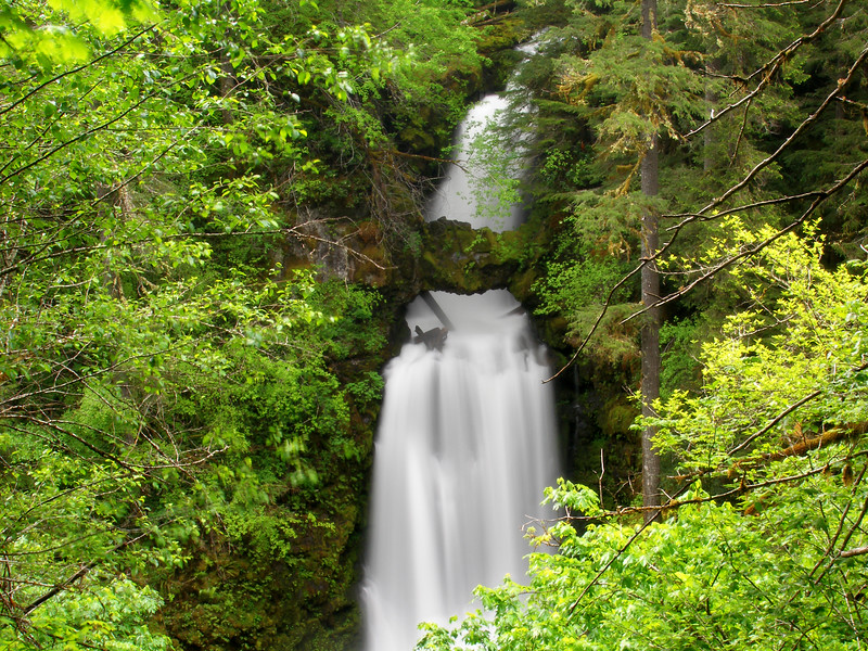 Curly Creek Falls