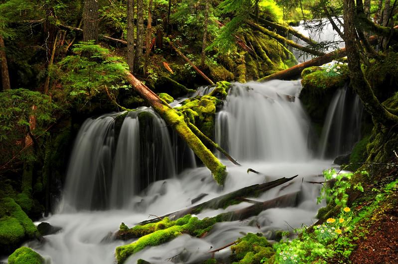 Middle Big Spring Falls