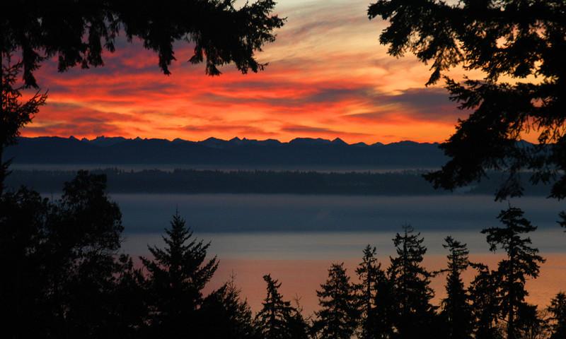 Cascade sunrise.