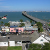 The Bridge to South Padre Island as seen from the top of the Lighthouse in Port Isabel