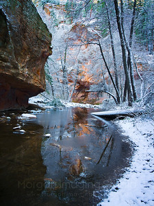 Winter Scene at Oak Creek