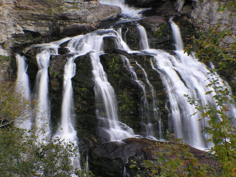 Strands of Cullasaja Falls