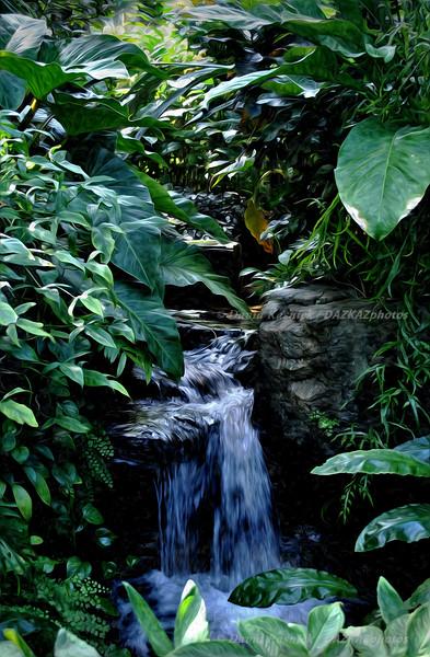 Missouri Botanical Falls 1