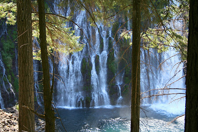 Burney Falls, California.