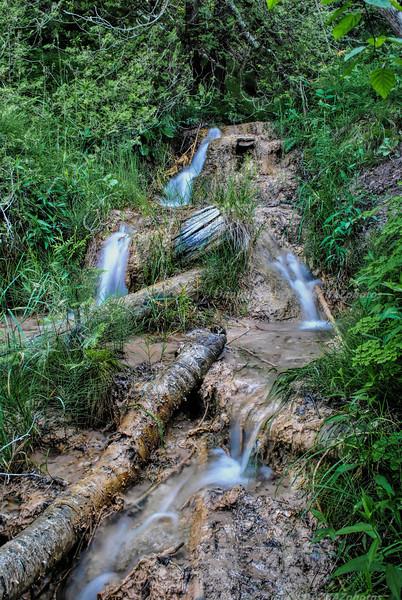 Artesian Waterfall 02 - Pentwater, MI