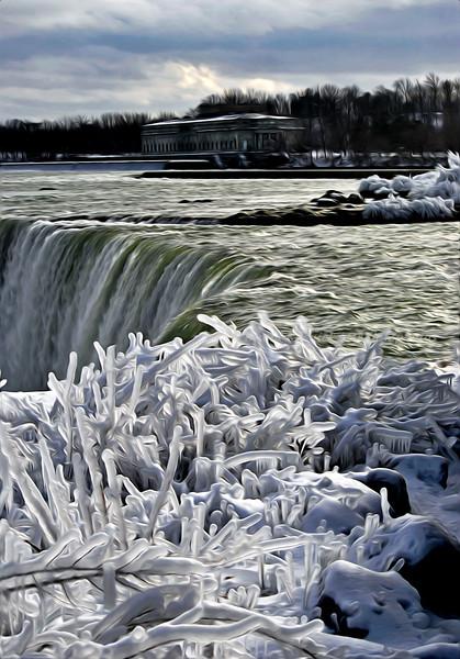 Frozen Niagara 2 - Niagara Falls, Canada