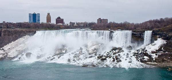 American Falls at Niagara Falls, NY