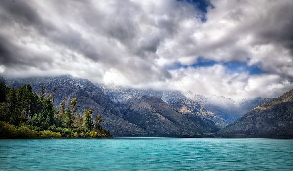 The Clouds Liked Blue Wakatipu Too
