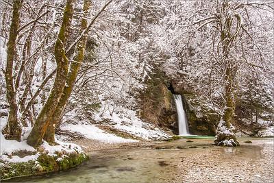 Grmečica waterfall