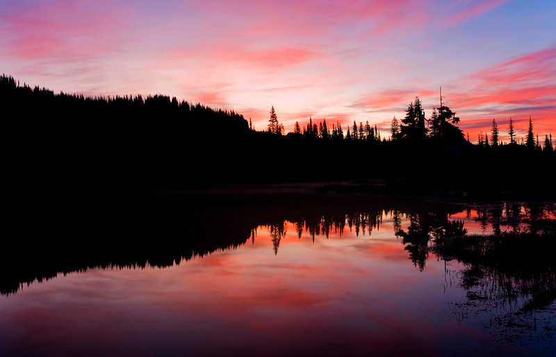 Reflection Lake Mt. Rainier National Park, WA