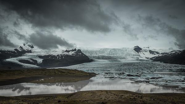 Glacier ending