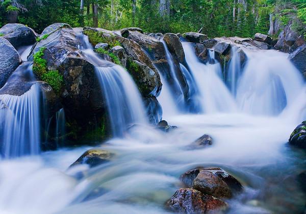 Paradise Falls Mt. Rainier National Park, WA