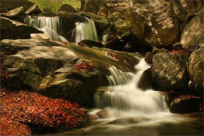 Santa Fe del Montseny waterfall