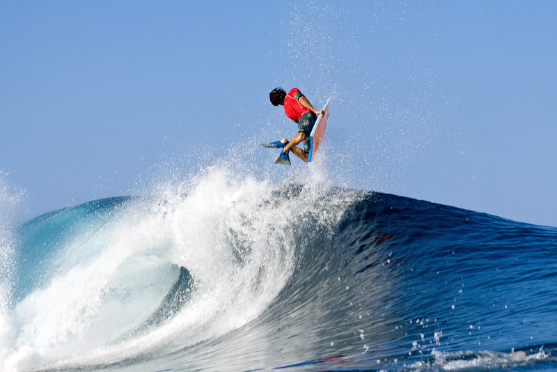 Pierre Louis Costes (PLC) launching a huge air forward at the 2014 APB Pipe Challenge.
