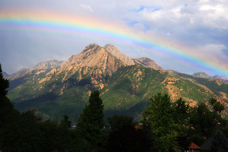 Mount Olympus Rainbow
