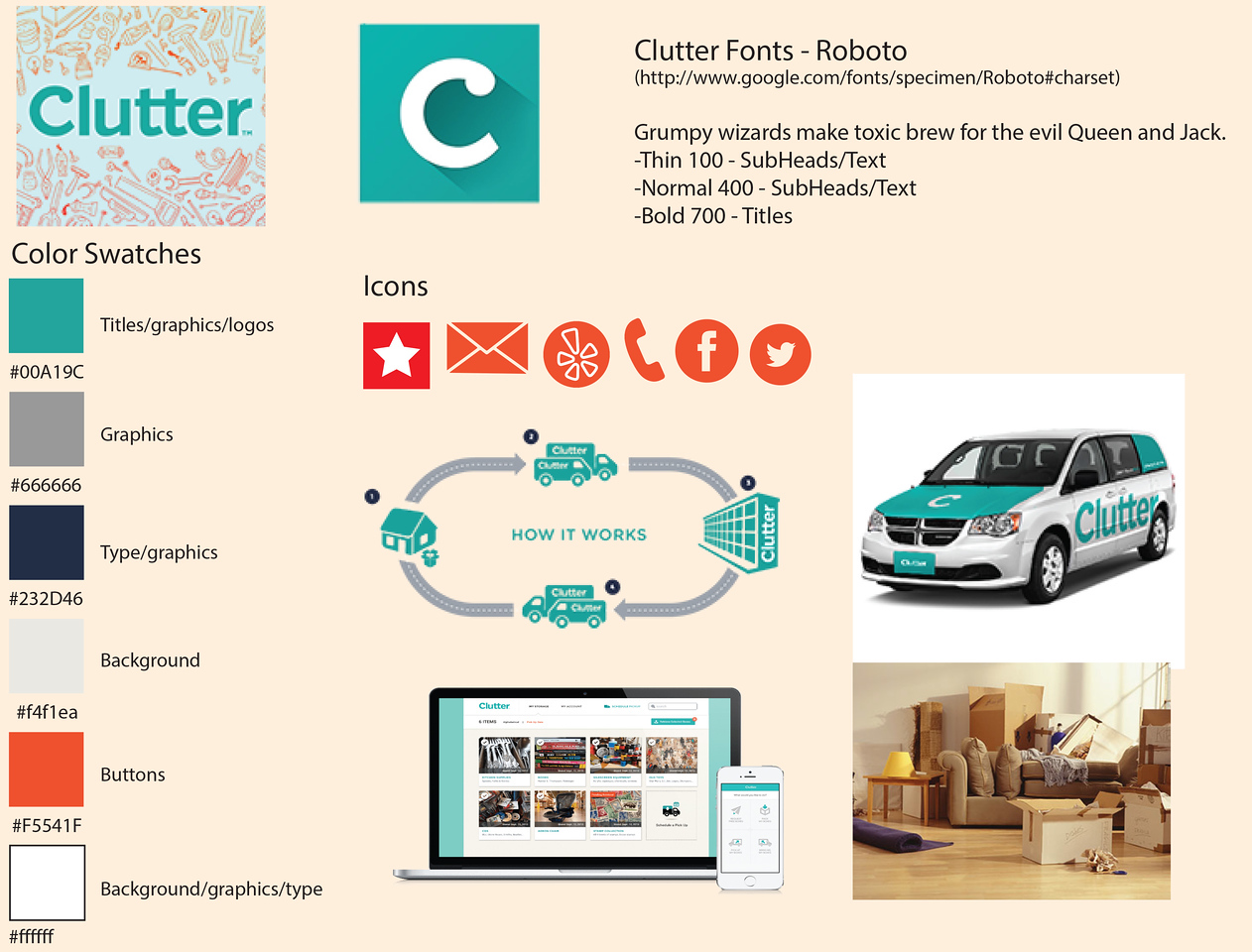 Clutter Style Guide
