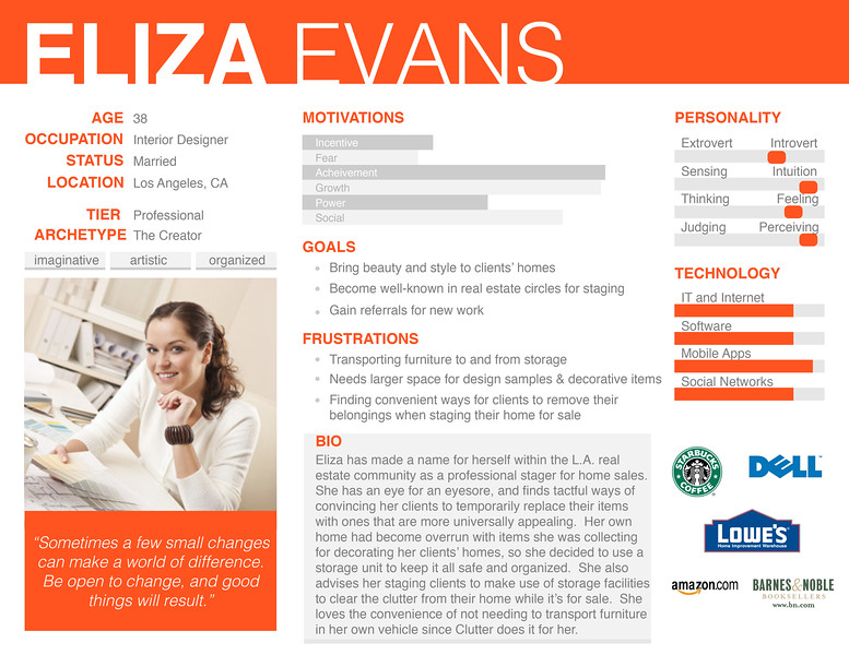 Persona - Eliza Evans