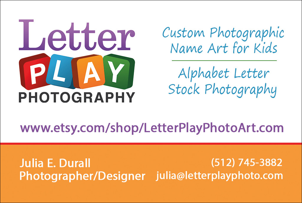 Business card, front