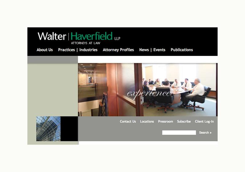 Walter Haverfield - Web Page