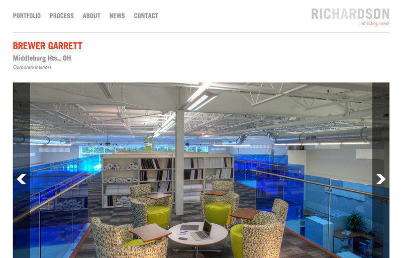 Richardson Design - Web Page