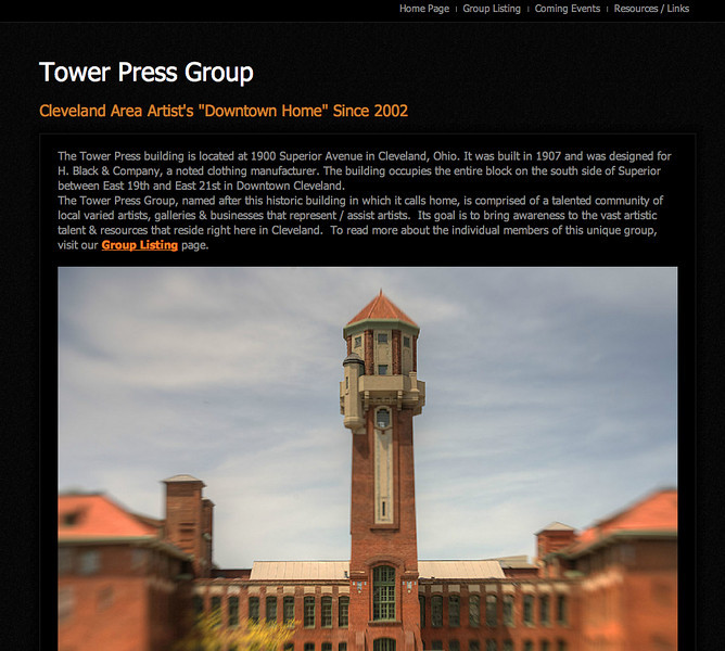 Tower Press Group - Web Page