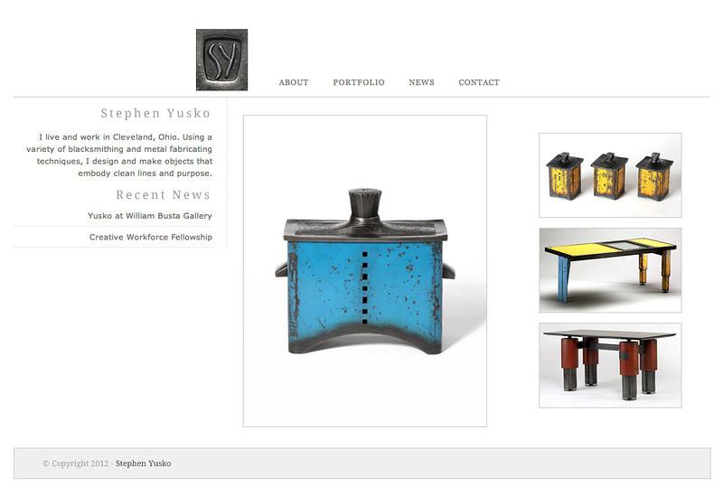 Stephen Yusko - Website Home Page