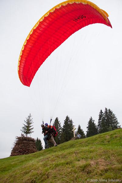 Ergon - Events - Gleitschirm-Tandem