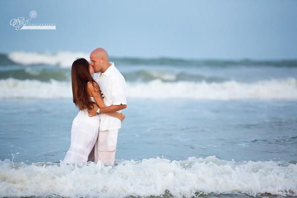 ponte vedra beach wedding engagement photographer