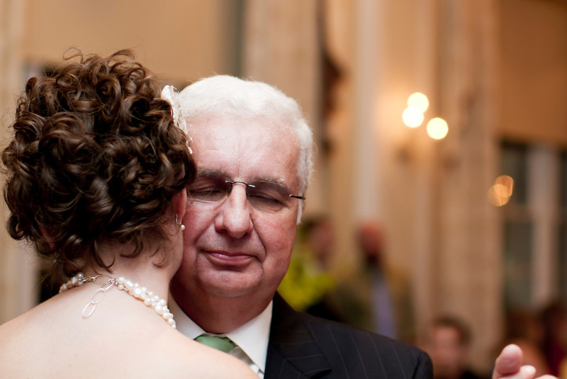 Father - Daughter Dance. George Washington Hotel Wedding