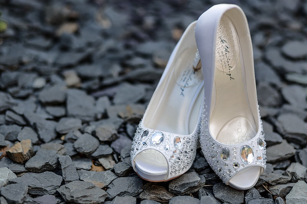 Wedding photography - bridal shoes-By-Oliver-Kershaw-Photography
