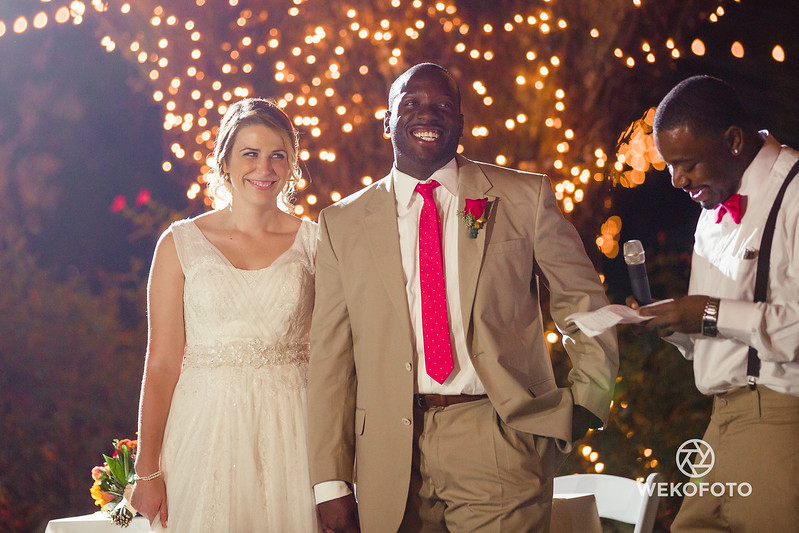 Wedding of Kaitlyn and Jawaan