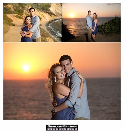 Magic Hour Engagement Shoot in Palos Verdes