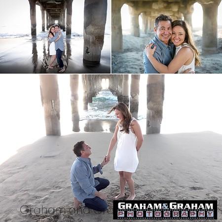 Manhattan Beach proposal photo