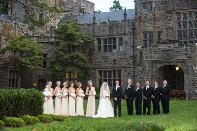 Emily Borsch and Douglas Lanciano were married at The Castle at Maryvale in Luthervile, Maryland on August, 30, 2014. Photography by Shannon Zirkle