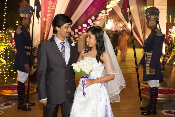 Kavitha and Saurabh wedding in Dehli.