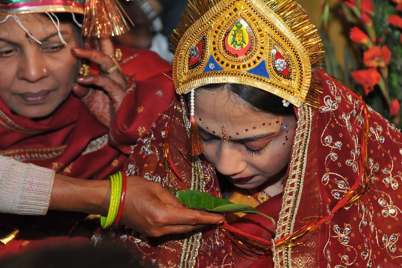 Nimisha wed Piyush Seth in Patna on 1st Feb, 2008.