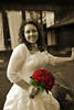 Formal bridal portrait