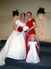 Bride & Maid of Honor & Miniature Bride