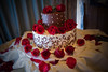 Bride's wedding cake