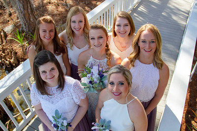 Wedding Photo of the Bride and Bridemaids.