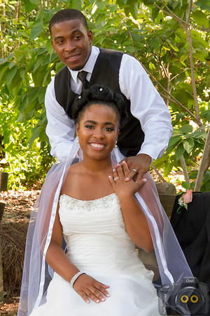 Wedding Photo of the Bride and Groom.