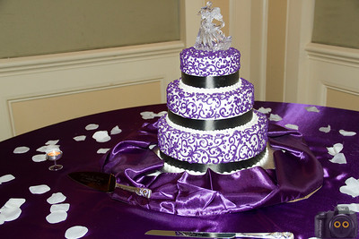 Wedding Photo of the Wedding Cake.