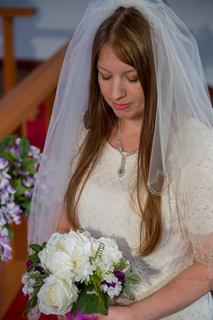Wedding Photo of the Bride.