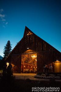 Tin Roof Barn Evening