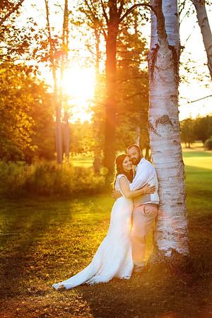 Crystal Lake Weddings Sunset Wedding | Rayan Anastor Photography | Beulah Wedding Photographer