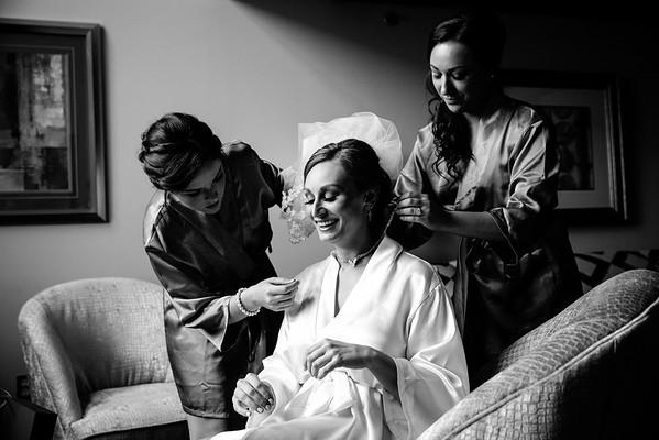 Bride getting ready | Rayan Anastor Photography | Inn at St  John's Wedding Photographer