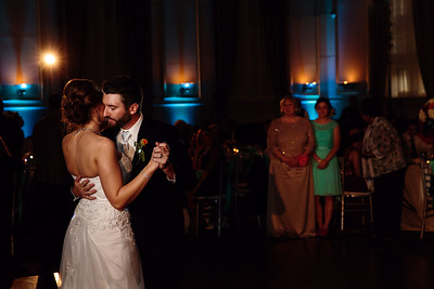 First dance love with bride and groom | Rayan Anastor Photography | Inn at St Johns Wedding Photographer