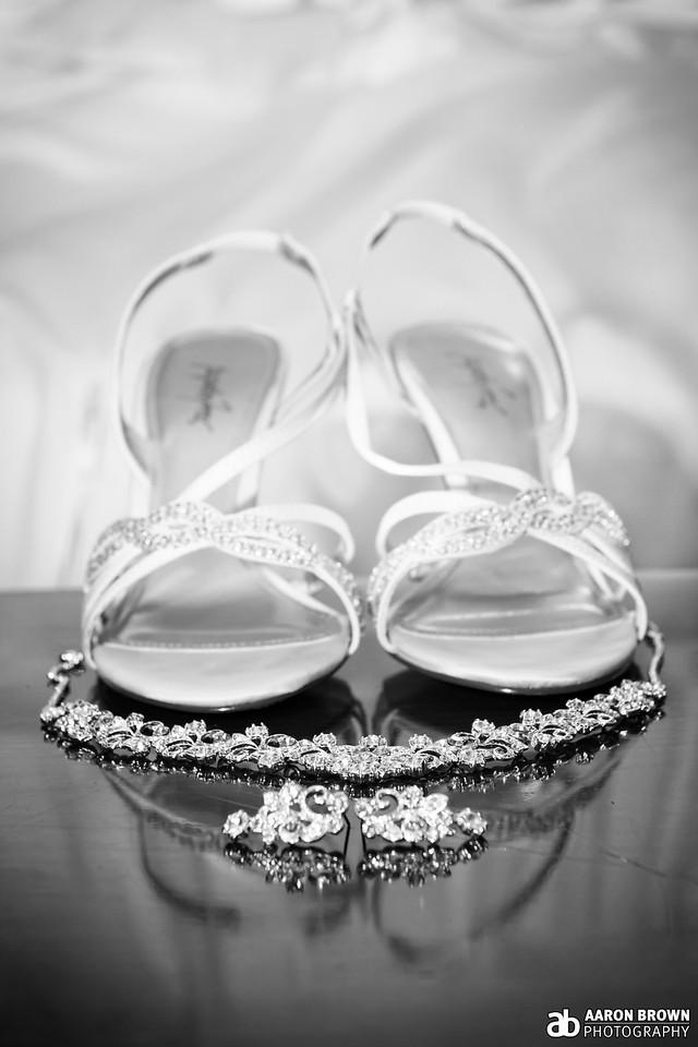 Stephanie Jessup & Dave Miloshoff Wedding Day - Details At Home - Schererville, Indiana
